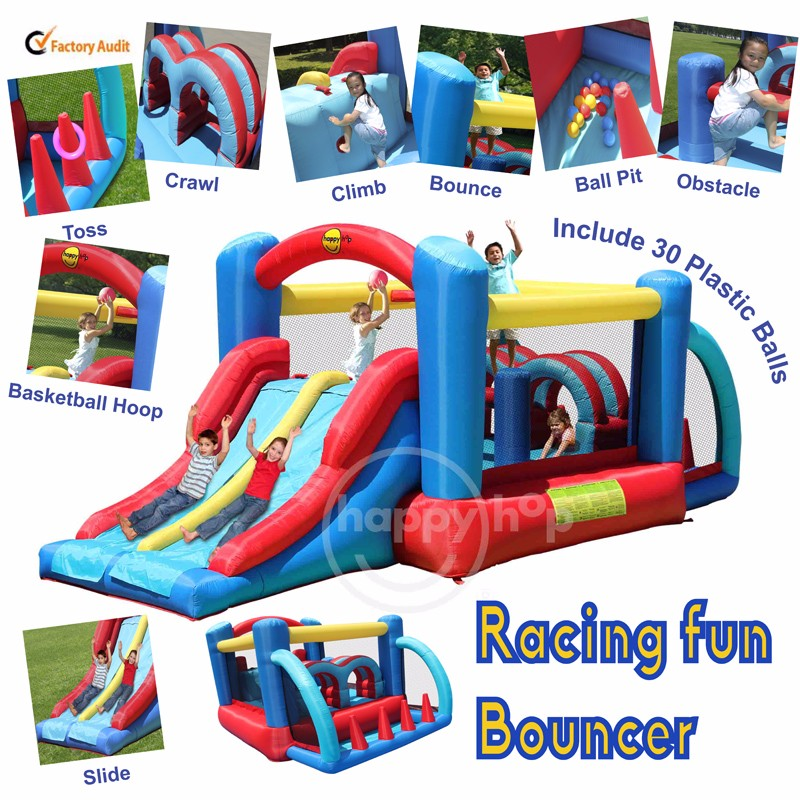9163--Racing Fun Bouncer