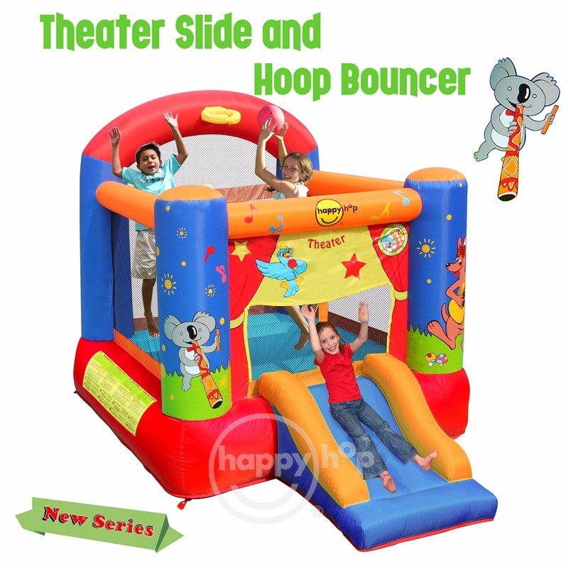 9304T -- Theater Slide and Hoop Bouncer