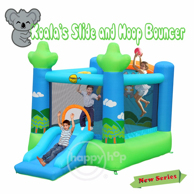 9031--Koala's Slide and Hoop Bouncer