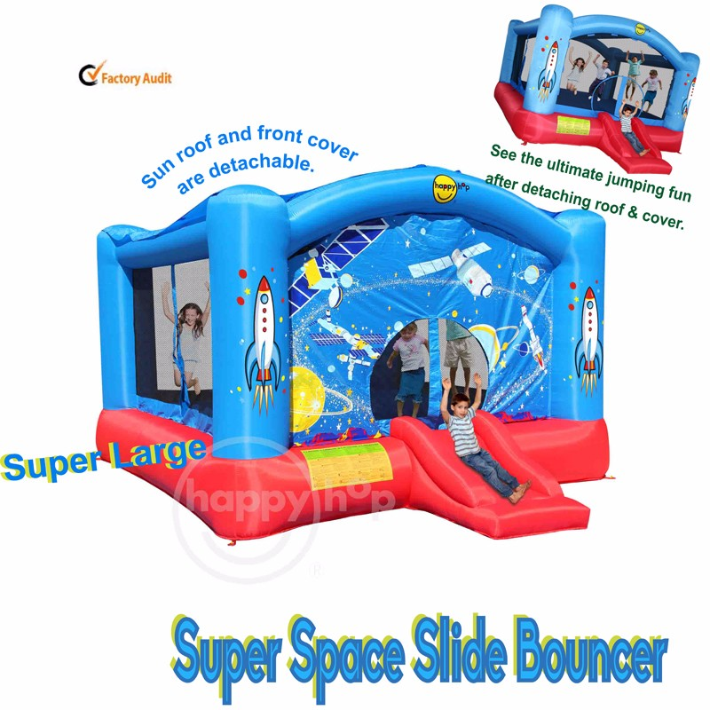 9212N--Super Space Slide Bouncer