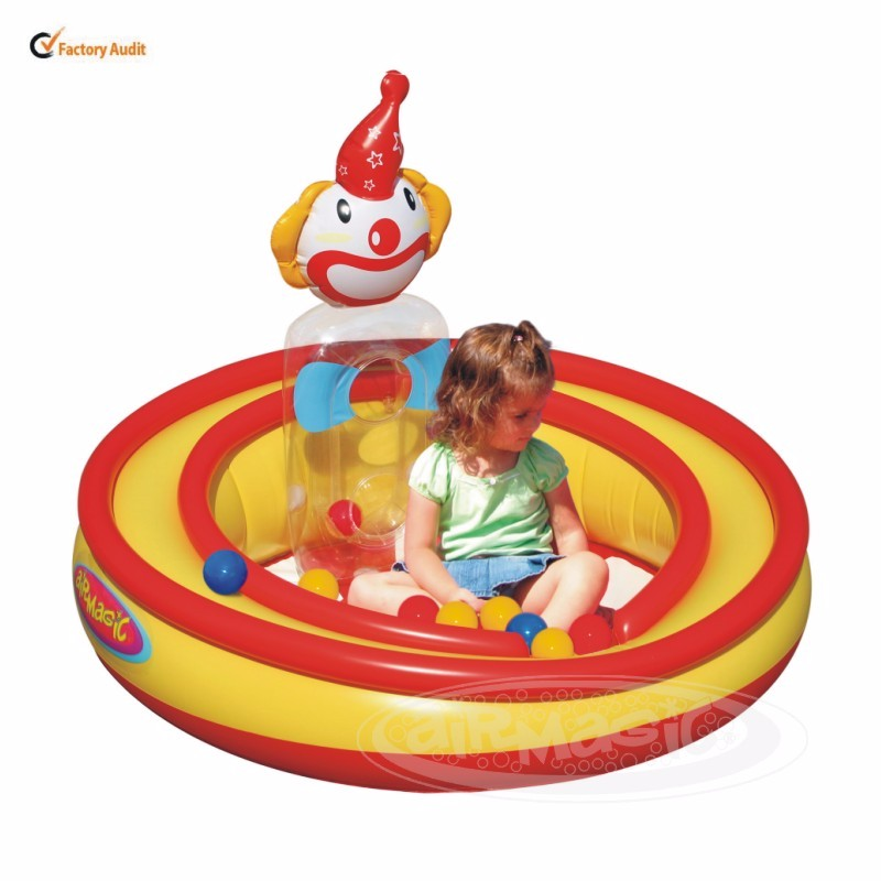 Inflatable  Play Pool- 8101 Clowning Around Play Pool