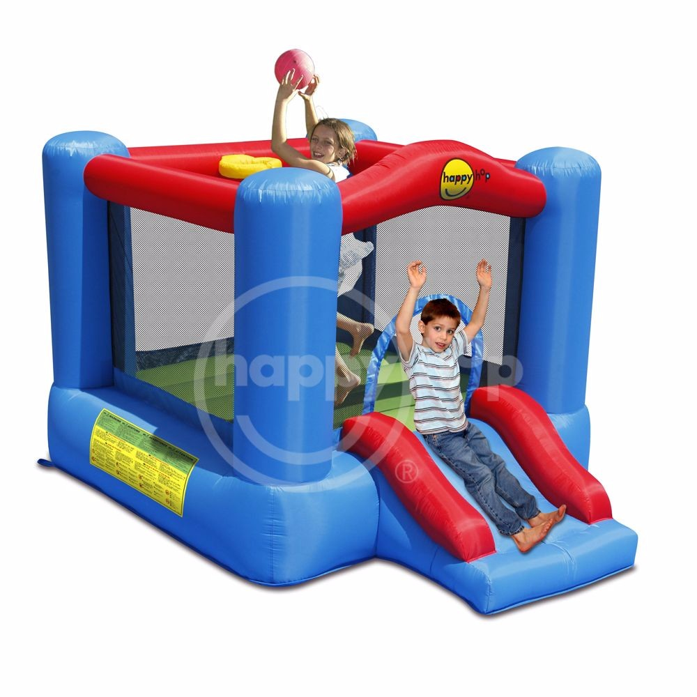 9270-Slide and Hoop Bouncy Castle
