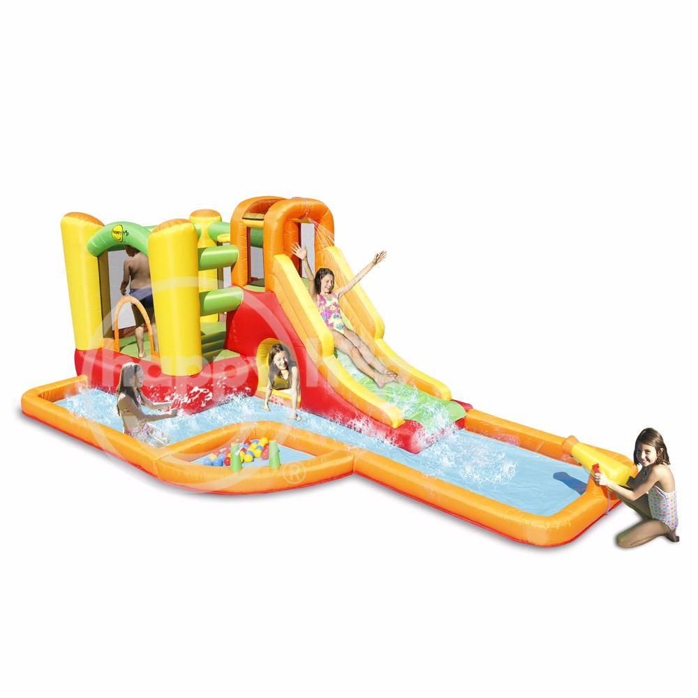 9281-Giant Airflow Bouncy Castle and Pool