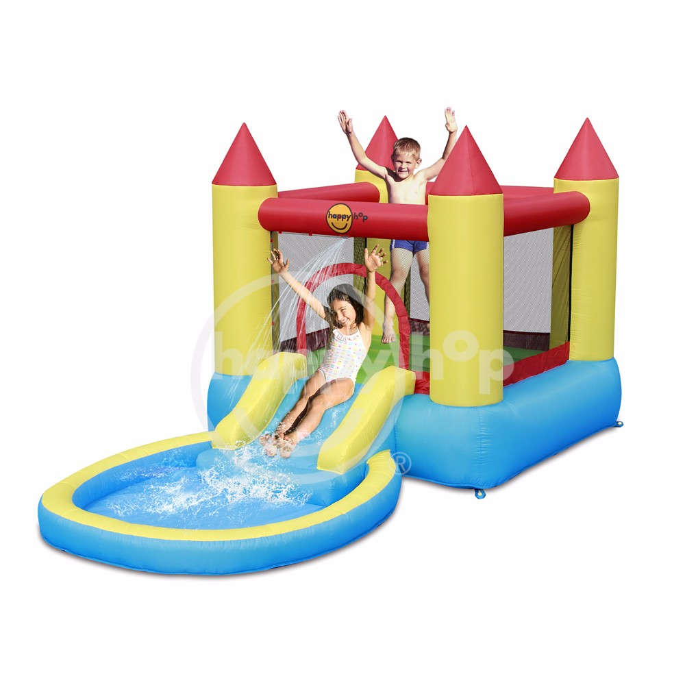 9820-Bouncy Castle with Pool and Slide