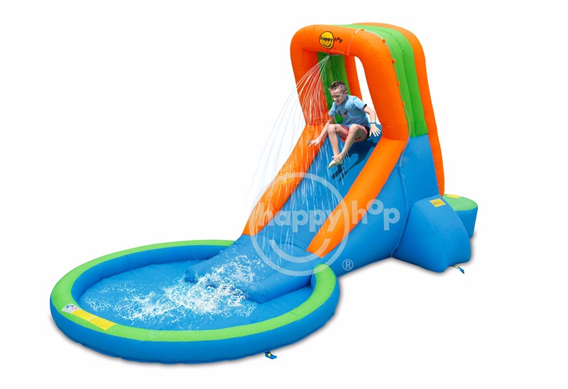 9042S-Water Slide Pool