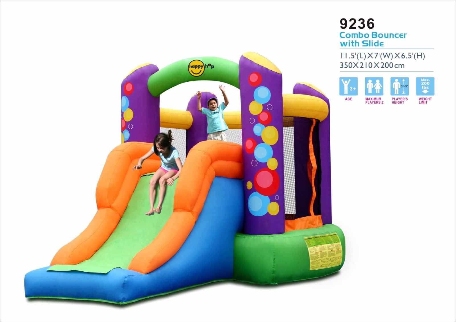 9236--Combo Bouncer with Slide