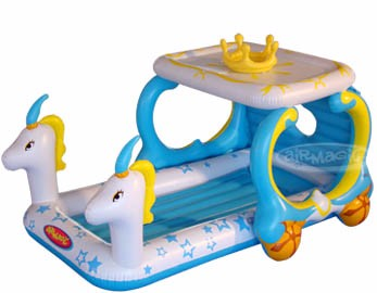 PVC Inflatable Toy-8202 Princess Carriage