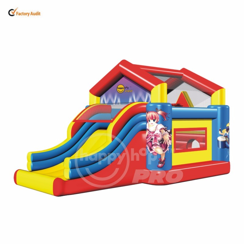 1018-Giant Bouncy House n' Slide